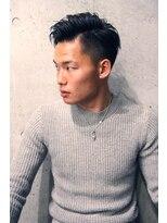 フェス カットアンドカラーズ(FESS cut&colors)【ツーブロック×アップバング】刈り上げスタイル『FESS 鶴丸』