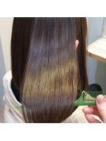 大宮髪質改善/大宮ヘッドスパ/ほんのりピンクアッシュ/ツヤ髪
