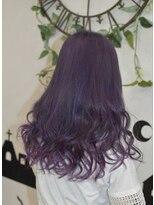 ヘアーサロン エール 原宿(hair salon ailes)(ailes原宿)style335 ガーリーパープル