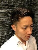 プレミアムバーバー 原宿店(PREMIUM BARBER produce by HIRO GINZA)ビジネスマンアップバング ツーブロック