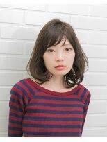 ムード 金沢文庫 hairdesign&clinic mu;d肩したボブ×毛先ワンカール