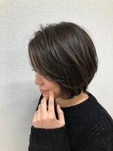 ジルヘアー(Gill hair)カーキアッシュ