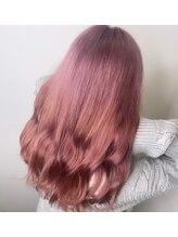 オーストヘアージール(Aust hair Zeal)さくら色カラー