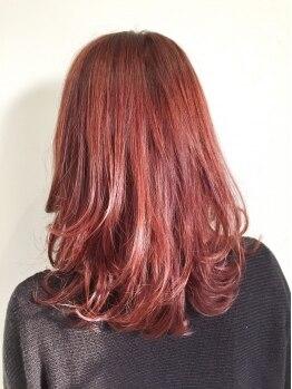 ヘアー メイク フィールド(Hair Make Field)の写真/【国産のヘアケア商品を使用】髪・頭皮への優しさを考えた、こだわりの施術にきっと満足☆