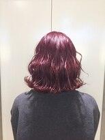 ヘアサロン ドット トウキョウ カラー 町田店(hair salon dot. tokyo color)【cassis pink】ダブルカラーカラーリスト田中【町田/町田駅】