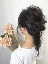 ヘアーサロン リベルテ 上本町店(hair salon Liberte)大切な日やお祝いの日に♪ヘアアレンジ