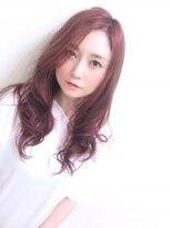 ヘア エスト 古賀店(HAIR EST)ゆるふわピンクカール