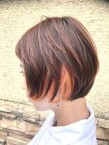 コレット ヘアー 大通(Colette hair)オレンジショート