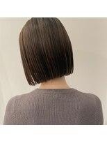 セカンド(2nd)ブラントボブ/ミニボブ/ショート/髪質改善