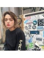 ピープル(people)〔people〕切りっぱなしBOB × MILK TEA BROWN