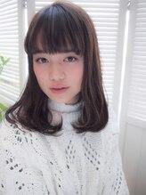 シアン(cyan)ミディアムカール☆