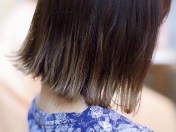 ヘアーラボ ハル(Hair Labo haru)の写真/haruの縮毛矯正は、成分にもこだわります!厳選された7種類のオイルとヒアルロン酸が入った薬剤を使用♪