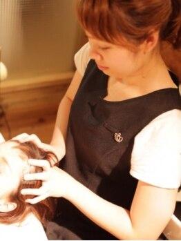 セシカノイ(cecica noi)の写真/未来の髪のことを考えて―…≪cecica≫の『美髪への第一歩』30代から始める極上ヘッドスパで癒されて下さい