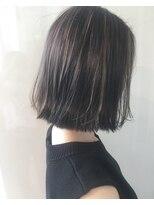 【ALIVE原宿】透ける髪色。ハイライトカラー☆種市明日香