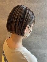 ブリック ヘアアンドスパ 松山(BRICK HAIR&SPA)contrast bob