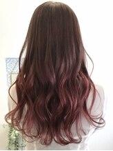 ロイヤルヘアー(ROYAL HAIR)ピンクアッシュ×ピンクレッド