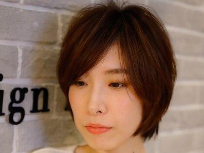 サインヘアー(sign hair)の写真