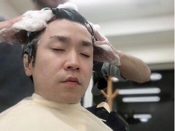 オカベース(BARBER GROOMING GOODS OKA BASE)の写真/【NEWOPEN】一流は細部まで拘り、ワンランク上の男を演出!シェービングメニューに眉・ひげカットサービス