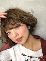 ◆ふんわりボブ+前髪【髪質改善オージュア認定サロン】