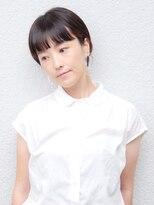 七ッ星+インナーカラーショート