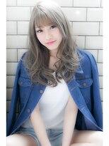 【EIGHT 新宿】シースルーバング鉄板セミロング