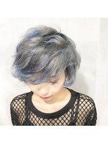 【奈良/inni hair】アイスブルーグラデーション