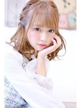 メイズ(MAZE)【メイズ東中野・鍛原志行】編み込みツインテール