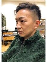 BARBER刈りアシンメトリーstyle☆