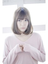 【Lucy 新宿】ミニマムボブ大人かわいい透明感カラー
