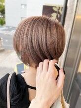 レヴェリーヘア(Reverie hair)#ミルクティーカラー#ハイトーンカラー