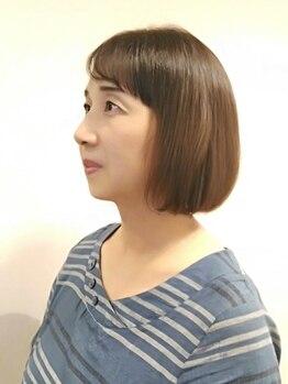 サロン ド ヨシノリ(salon de yoshinori)の写真/高リピート率は確かな技術の証!「品の良さ×トレンド」で大人女性が持つ美しさを全力サポート♪