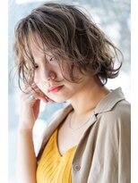 ロジッタ(ROJITHA)【ROJITHA】波打ちウェーブ×フレンチベージュ