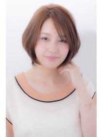 ミンクス 銀座店(MINX)【MINX 蛭田】大人可愛い★オトナのシースルー・ボブ