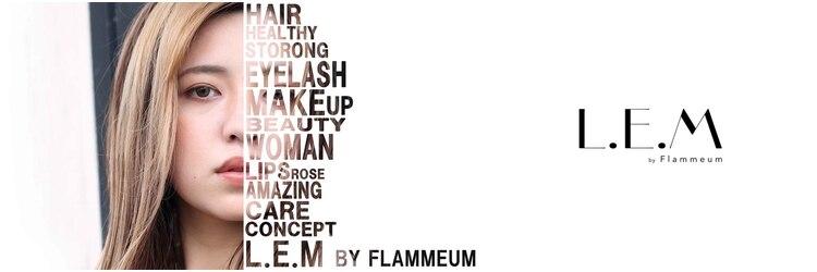 レムバイフラミューム(L.E.M by flammeum)のサロンヘッダー