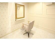 クラッチ 天王寺(CLUTCH)の雰囲気(3階は白基調のデザイナーズ空間。カーテンで半個室に♪)
