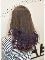 ヘアーサロン エール 原宿(hair salon ailes)(ailes原宿)style336 グラデパープル