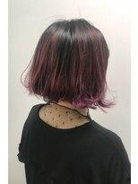 ヘアーサロン エール 原宿(hair salon ailes)(ailes 原宿)style417 グラデーションカラー☆パープルレッド