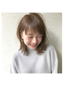 アンアミ オモテサンドウ(Un ami omotesando)【Un ami】《増永剛大》人気、モテ可愛く/切りっぱなしボブ☆