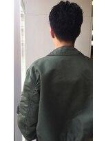 【NATTYSECT】メンズ 刈り上げ パーマスタイル