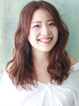 ベニ 仙台鈎取店(BENI)の写真/オーガニックカラー【ルビオナ】取扱いサロン♪髪と頭皮のために、大人ヘアカラーの新習慣を。