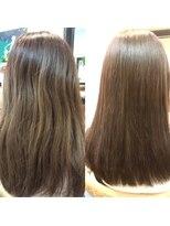 ミーノ(mieno)【髪質改善】女性らしさ溢れる◎うるツヤ髪で上品な印象に♪