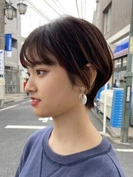 エムタニグチシーク(M.TANIGUCHI SEEK)の写真/悩みを魅力へ変える【似合わせショートヘア】忙しくてもセットが簡単で楽な再現性の高いカットを体験下さい