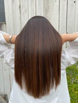 ザヘアーショップ(THE HAIR SHOP)の写真/他店とは違う髪質改善トリートメント!人生で1番の艶と輝きを手に出来ます。