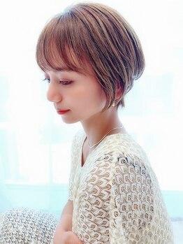 """アイビー(Ivy)の写真/""""本当に似合う""""と美容のプロも驚くカット技術。それがIvyこだわりの【骨格矯正小顔カット】です。"""