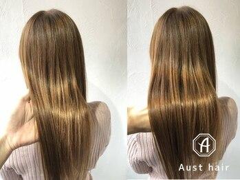 オーストヘアージール(Aust hair Zeal)の写真/【名駅徒歩1分★】#魔法のシャンプーと話題のoggi otto,最高級TOKIOトリートメントで、理想のうるツヤ髪へ