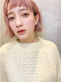 ヘアアンドメイク シークネクスト(HAIR&MAKE SeeK NEXT)の写真/立川駅南口1分◆ハイライト/グレージュ/アッシュ系colorに支持多数!髪も肌も綺麗に魅せる透明感カラーが◎