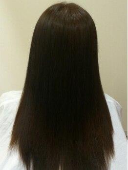 ヘアー コパン(Hair Copan)の写真/髪への負担を軽減してくれるトリートメント成分配合◎思わず触りたくなる上質な美ストレートを叶えます―*