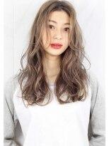ヘアサロン ガリカ 表参道(hair salon Gallica)☆『 ミルクティーグレージュ & 毛束感 』無造作☆