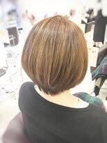 クール ヘアー ギャラリー 神明町店(COOL Hair gallery)骨格補正ボブ