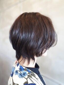 ブルーム(bloom)の写真/大人女性の髪の変化やその人の癖に合わせたをStyleご提案◇ショートヘアに挑戦したい方是非お任せください!
